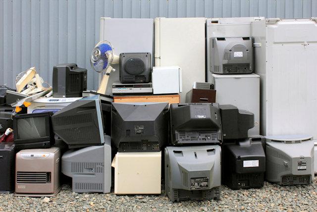 家電リサイクル法対象の家電ゴミ