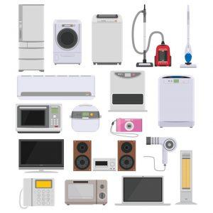 一般家庭から出る家電ゴミ