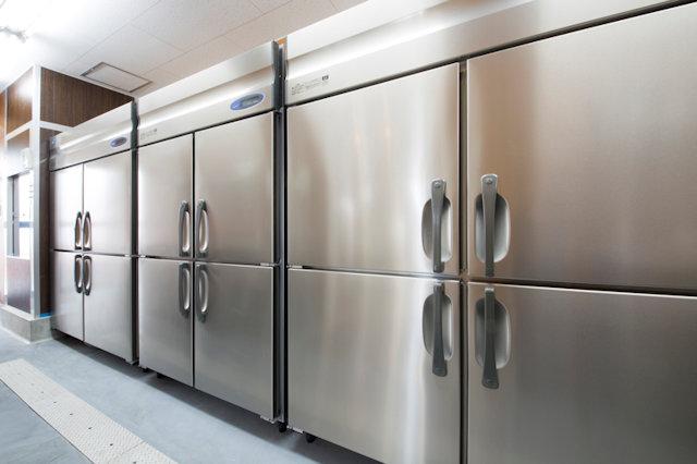 業務用の冷蔵庫