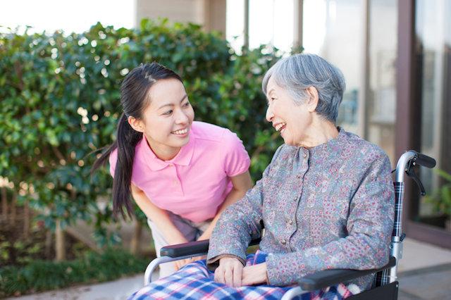 老人ホーム入所者への配慮