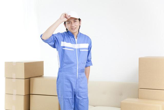 不用品回収業者の男性のイメージ
