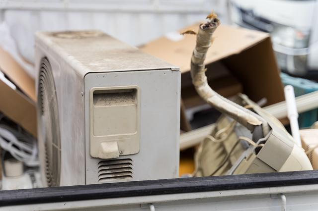 廃品回収車