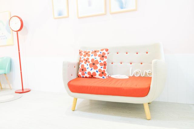 家具店のソファ