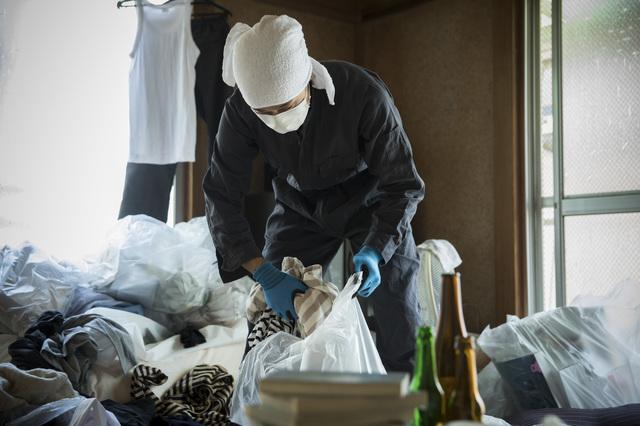 ごみ屋敷清掃