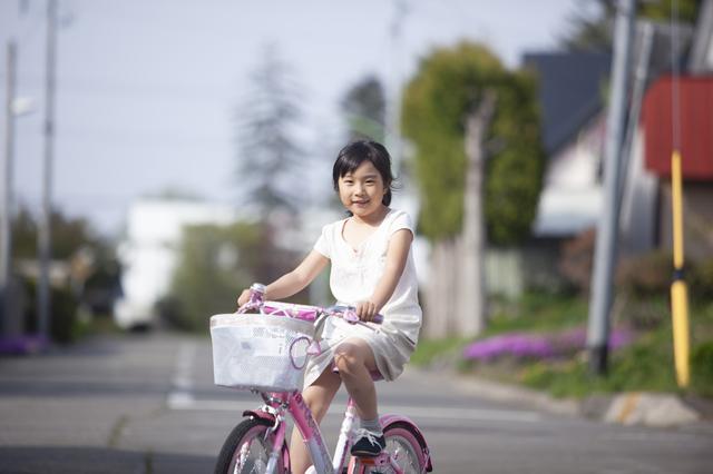子どもと自転車
