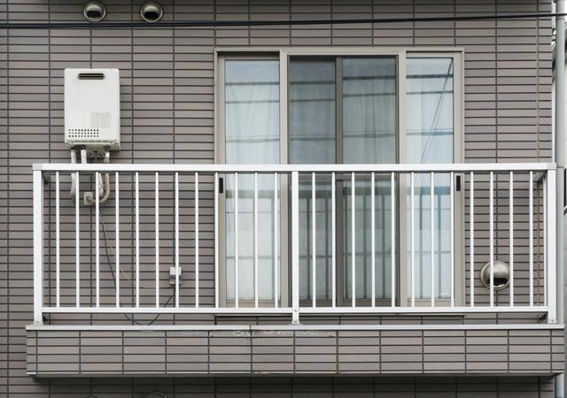 アパートの2階