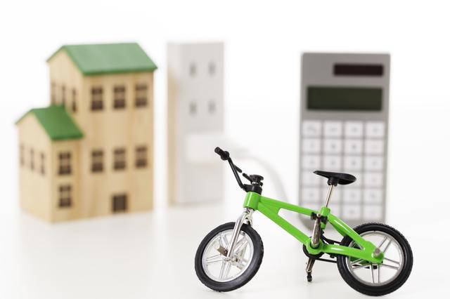 自転車と電卓