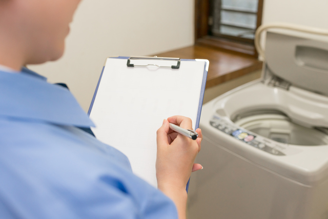 洗濯機と業者